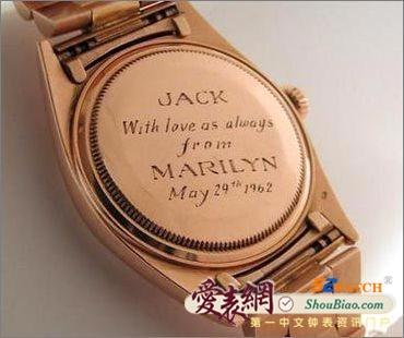 美国总统最爱的手表集锦