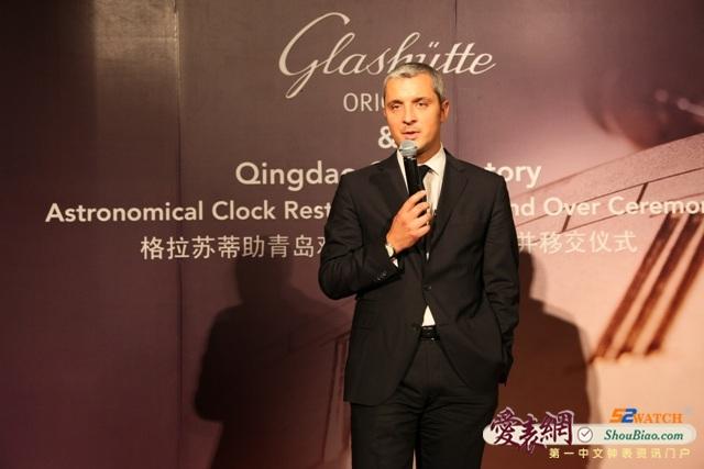 德国格拉苏蒂天文钟重返中国  (点击图片翻页)