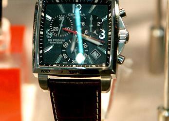 雪铁纳腕表 原始与时尚并存