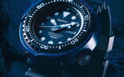 精工表蓝鲸破浪显身Seiko Prospex130纪念腕表