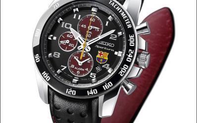 巴赛罗那的荣耀:精工Seiko FC Barcelona足球纪念表