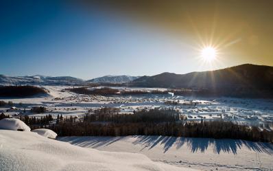 冬季童话特辑1:新疆禾木让人窒息的美丽