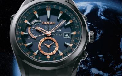 探索GPS定位的手表-精工Astron GPS腕表