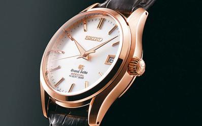 当贵金属遇上精工:Grand Seiko Hi-Beat特别款式手表