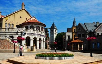 广州花都欧洲小镇的度假享受---九龙湖公主酒店