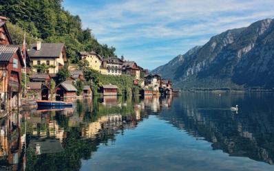 奥地利 Hallstatt  独享欧洲小镇的一份宁静