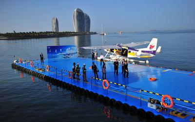 国内首个水上飞机商照培训班落户三亚