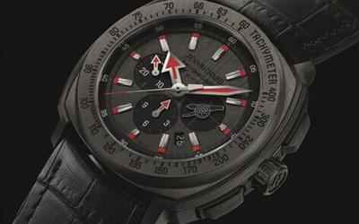 尚维沙JeanRichard为阿森纳俱乐部推出第三款时计