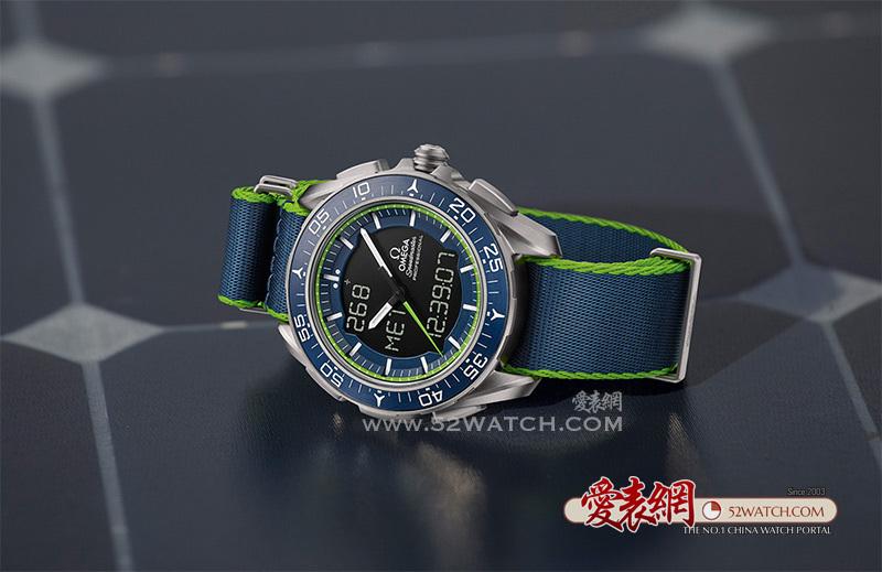 """看完《冲上云霄》后最想入手的手表:欧米茄全新""""天行者""""X-33腕表  (点击图片翻页)"""