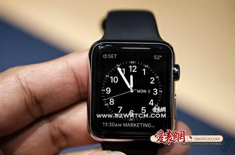 前线目击:苹果手表Apple Watch品评