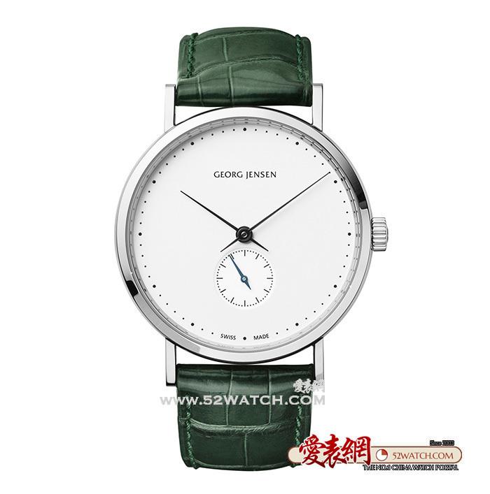 简约时尚:乔治杰生Georg Jensen推出三款全新Koppel腕表  (点击图片翻页)