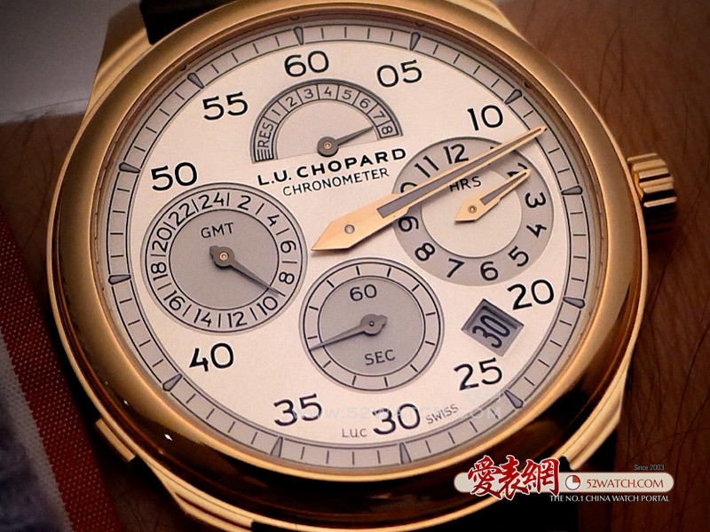 巴塞尔新表抢先戴:萧邦L.U.C Regulator手表  (点击图片翻页)