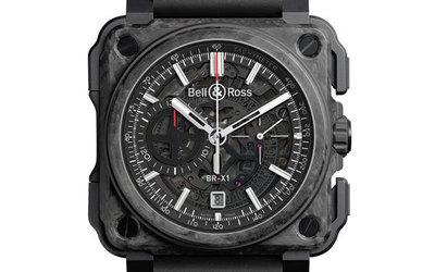 柏莱士BR-X1 Carbone Forgé 终极功能性腕表