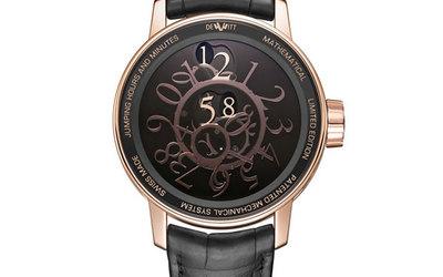 迪威特推出神秘無指針自動腕表