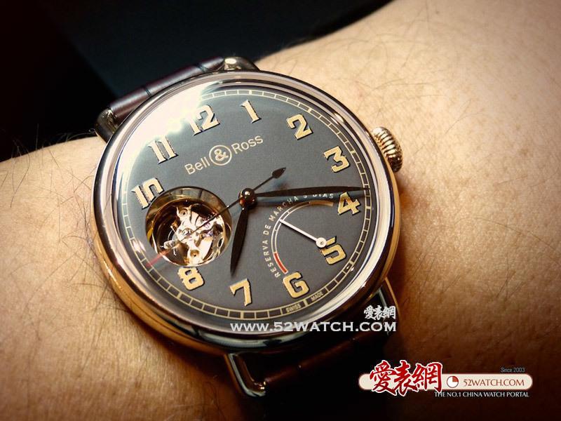 上手品评: 手表与雪茄 柏莱士全新Vintage WW1 Edición Limitada腕表  (点击图片翻页)