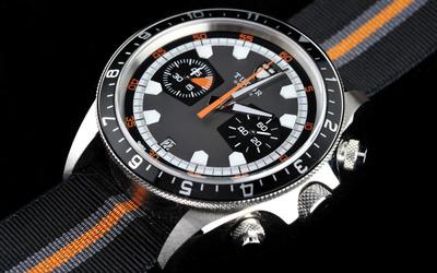帝舵Heritage Chrono腕表 时尚风格诠释赛车技术的精髓