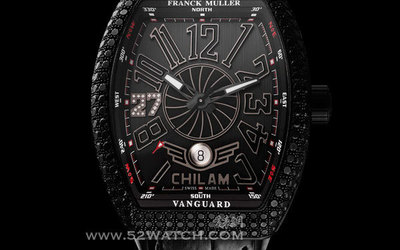 法穆兰呈献独一无二的Vanguard腕表