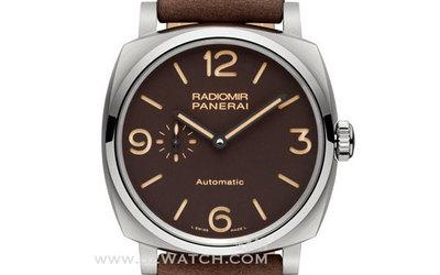 沛纳海Radiomir 1940 钛金属腕表 糅合简约及精湛