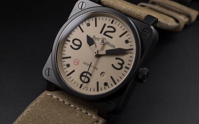 柏莱士推出全新沙漠款式BR03-92 Desert Type 腕表