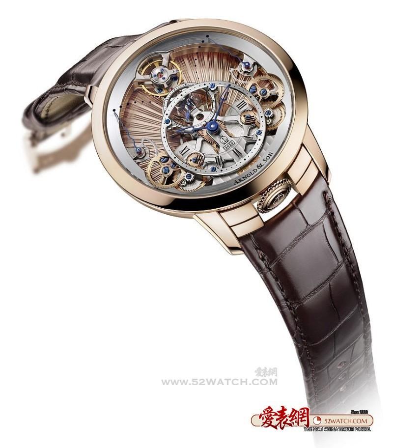 亚诺表原创的时间金字塔腕表