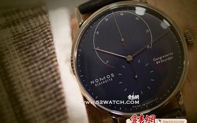 上手点评:极致包豪斯作风德国Nomos Lambda腕表
