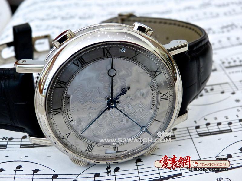 最具颜值的音乐腕表:宝玑经典复杂系列 'LA MUSICALE' 腕表