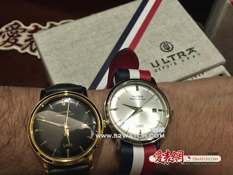 上手点评:法国Ultra经典款式SUPERAUTOMATIC腕表