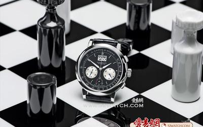 对比中的和谐美,黑与白的钟表世界:德国朗格DATOGRAPH UP/DOWN腕表