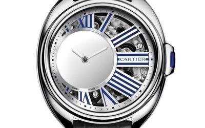 卡地亚Clé de Cartier 神秘小时腕表