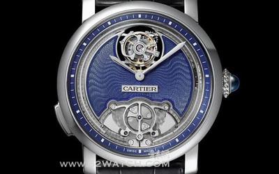 卡地亚 Rotonde de Cartier 蓝色珐琅三部曲