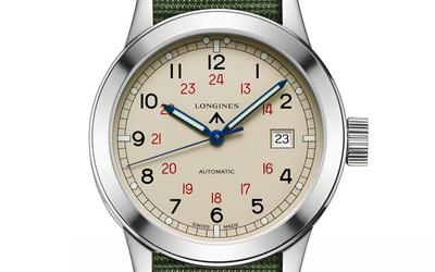 浪琴经典复刻系列COSD军事迷专属款腕表