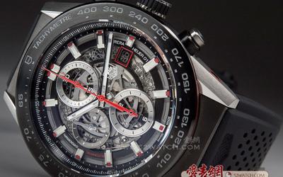 泰格豪雅榮耀發布 Carrera Heuer 01計時碼表
