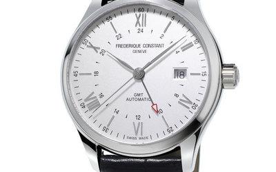 康斯登呈現典雅焯見自動GMT腕表