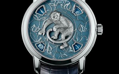 江诗丹顿猴年腕表 彰显品牌制表工艺