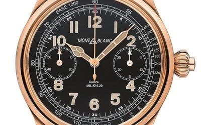 万宝龙1858系列 尊贵18K玫瑰金限量款腕表
