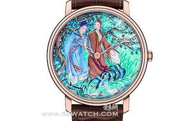 宝珀发布「梁祝」微绘珐琅高级定制腕表