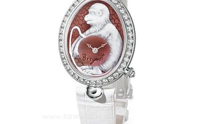 宝玑那不勒斯王后系列高级定制:十二生肖猴年腕表