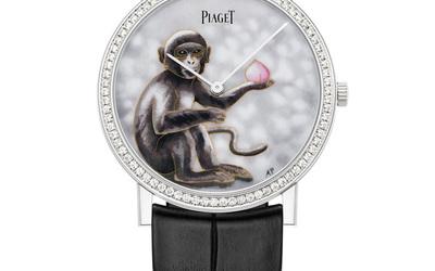 伯爵 Altiplano 生肖猴年限量琺瑯腕表