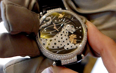 [2016 SIHH]新款腕表预览:卡地亚Cartier Panthères et Colibri腕表