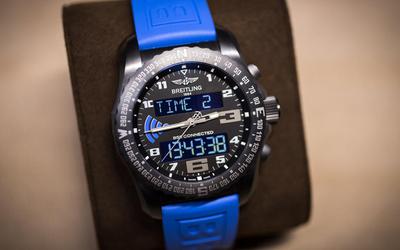 百年靈外太空計時B55腕表 重塑智能交互腕表的圖片