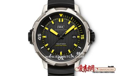 IWC万国呈献海洋时计腕表 体验非凡深海潜游
