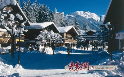 探訪瑞士格施塔德皇宮酒店,邂逅冰雪奇緣的圖片