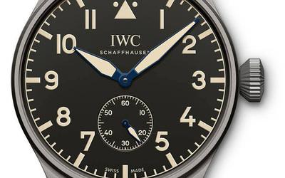 IWC飞行员系列腕表 正统优雅的传承
