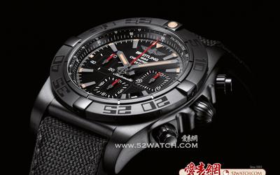 百年靈 享譽全球終極計時黑鋼腕表
