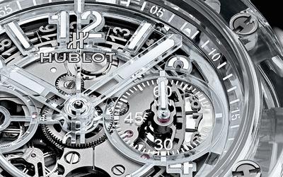 蓝宝石表身:宇舶表全新Big Bang Unico蓝宝石腕表