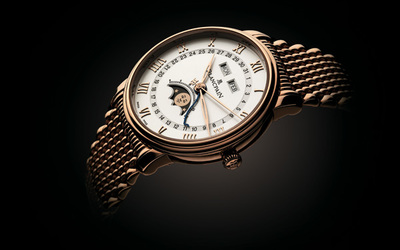 无憾的岁月:宝珀Blancpain经典全历月相腕表