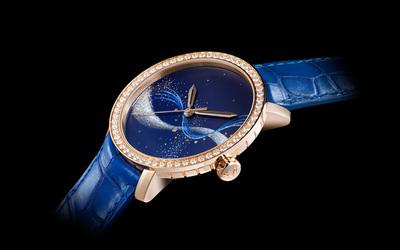 迪菲倫推出經典系列玄妙月相珠寶腕表