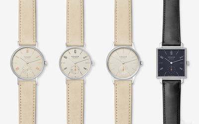 NOMOS neomatik自制机芯腕表系列正式量产