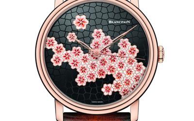 Blancpain 宝珀艺术大师系列樱花孤品腕表