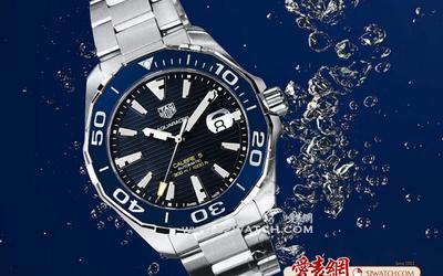 水瓶男的選擇:TAG Heuer泰格豪雅全新競潛系列Aquaracer腕表
